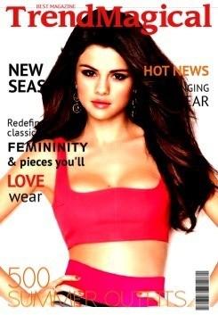 pop star - Magazine cover