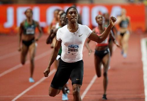Athletics: Semenya gets Van Niekerk backing as she targets longer distance
