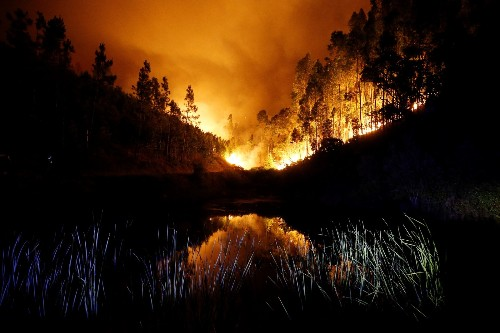 Deadly Wildfire in Portugal: Pictures