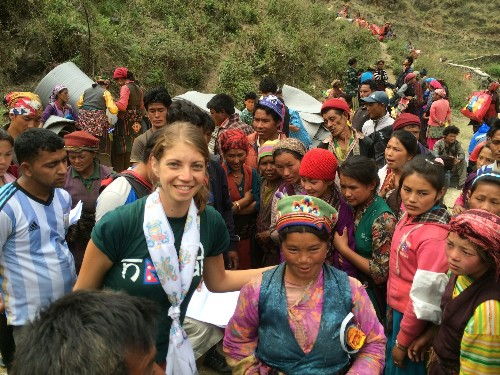 Documenting Relief Efforts in Nepal on Flipboard