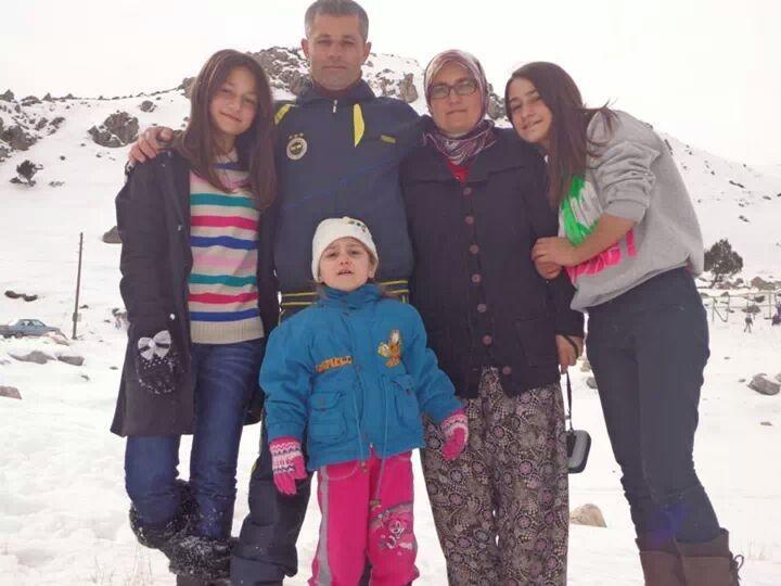 Ibrahim ustaz in Turkey with family