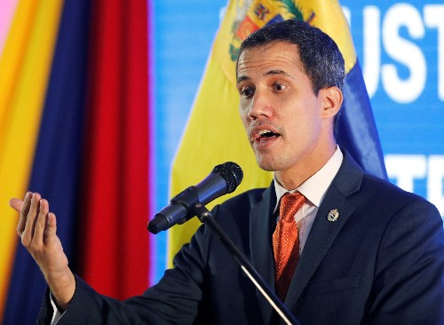 U.S. tells European Union to recognise Guaido as Venezuela president