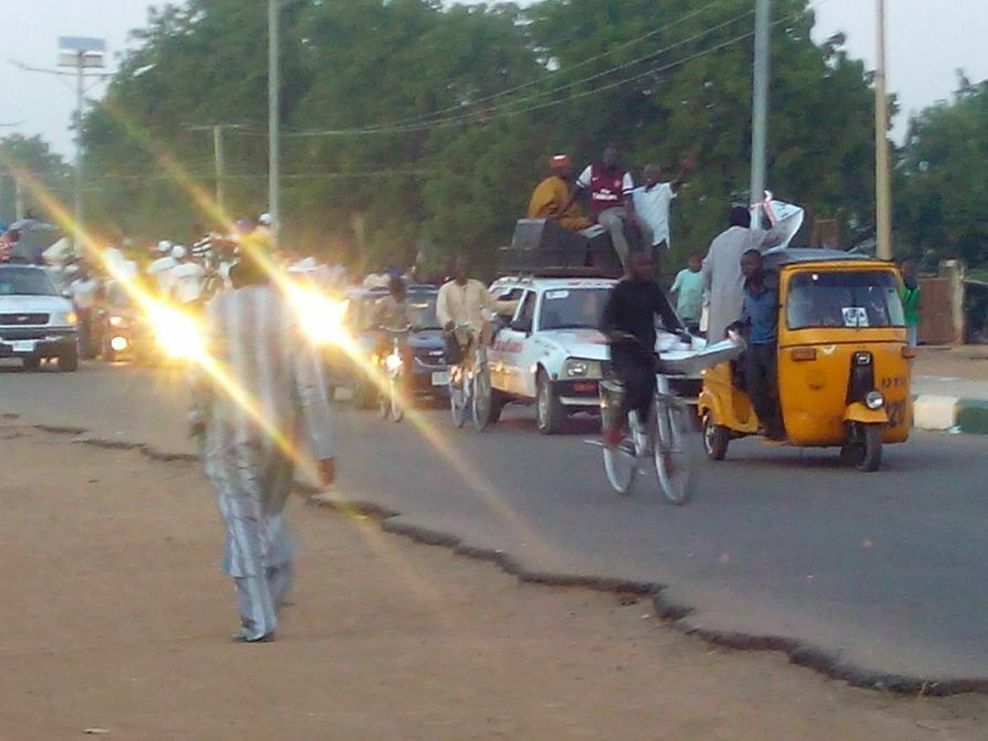 Local Government Election Rally in Damaturu, Yobe State Capital