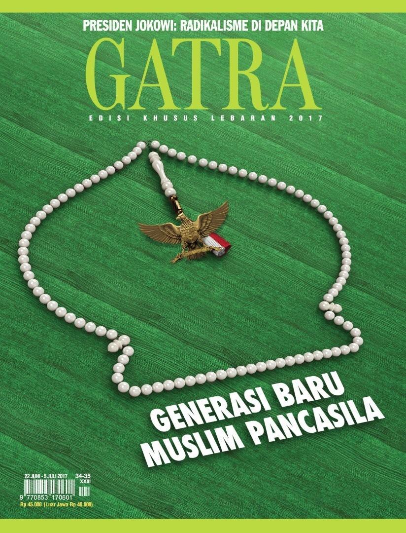 Edisi khusu lebaran 2017. Majalah GATRA