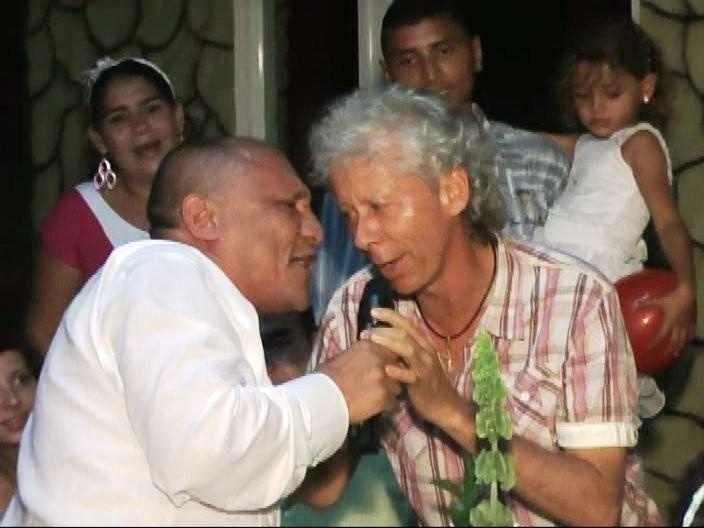 Galy Galiano y Jesus Vides.