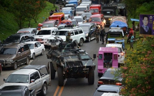 'Isil invasion' in the Philippines: Indonesians and Malaysians among foreign jihadists laying siege to city
