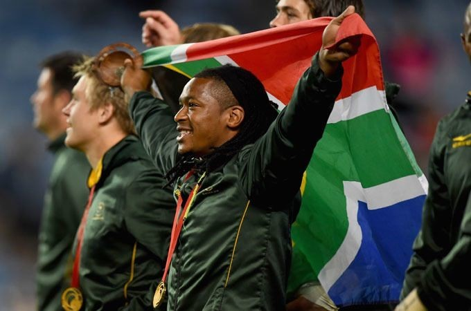 South Africa win gold in sevens