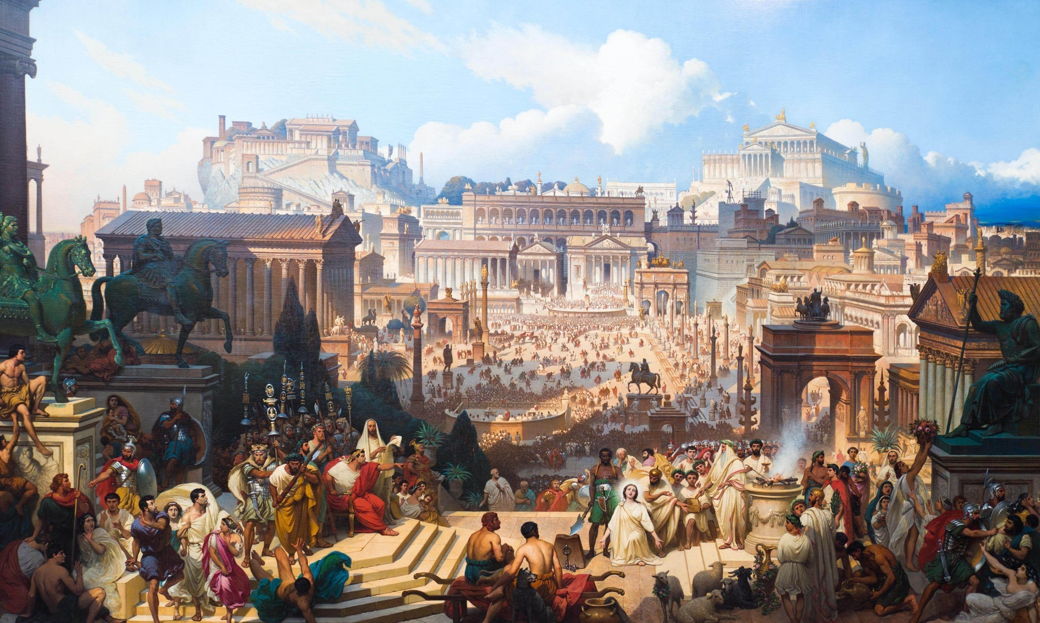 Story of cities #2: Rome wasn't planned in a day … in fact it wasn't planned at all