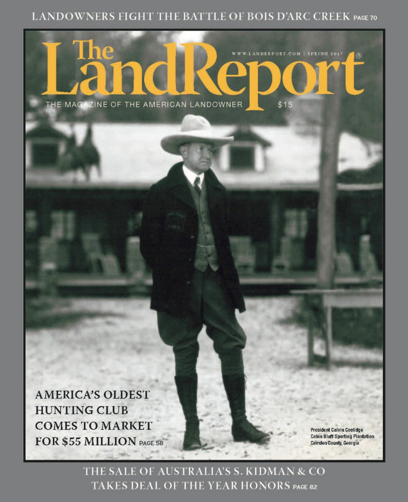 The Land Report Spring 2017 - cover