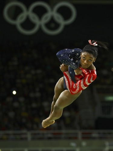 Biles, Phelps, Ledecky Lead US on Day 2 in Rio: Pictures