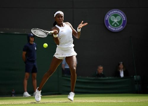 WTA roundup: Gauff upsets top seed Bertens to reach semis in Austria
