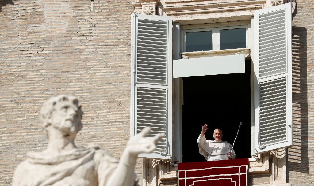 Pope names new cardinals, putting his stamp on Church's future