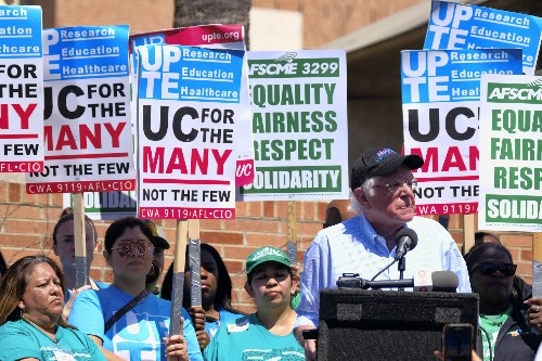Workers stage 1-day strike at California campuses, hospitals