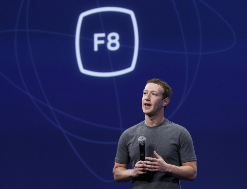 Zuckerberg Opens F8 Developers Conference