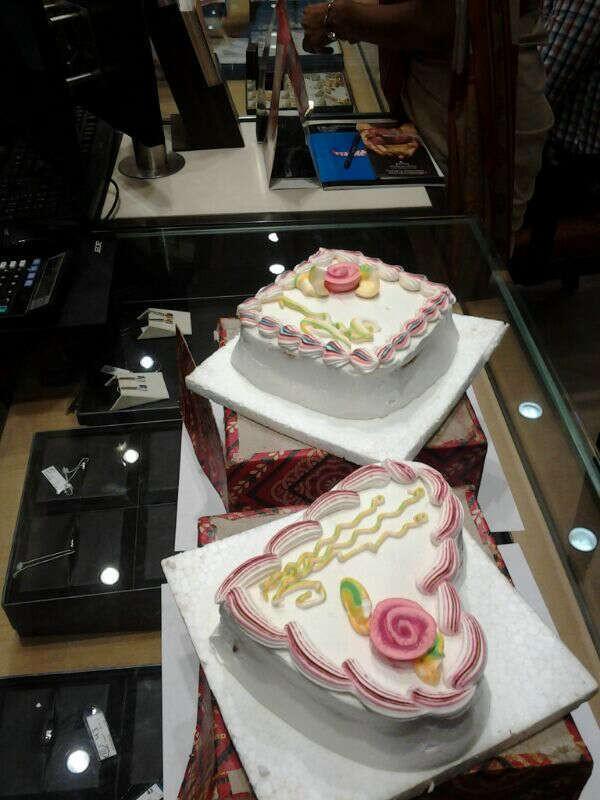 Local cakes...