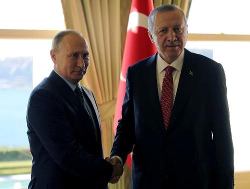 Russia's Putin spoke to Turkey's Erdogan ahead of wider Syria talks: Kremlin