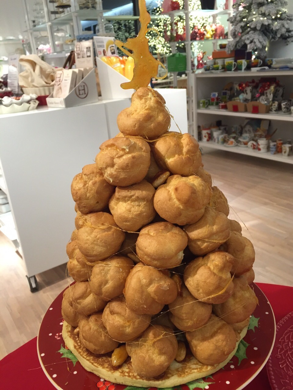 Croquembouche for Christmas!