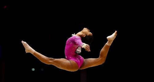 World Gymnastics Championships Begin in Glasgow: Pictures