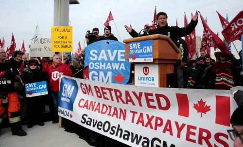 Canadian auto union faces Catch-22 in General Motors fight