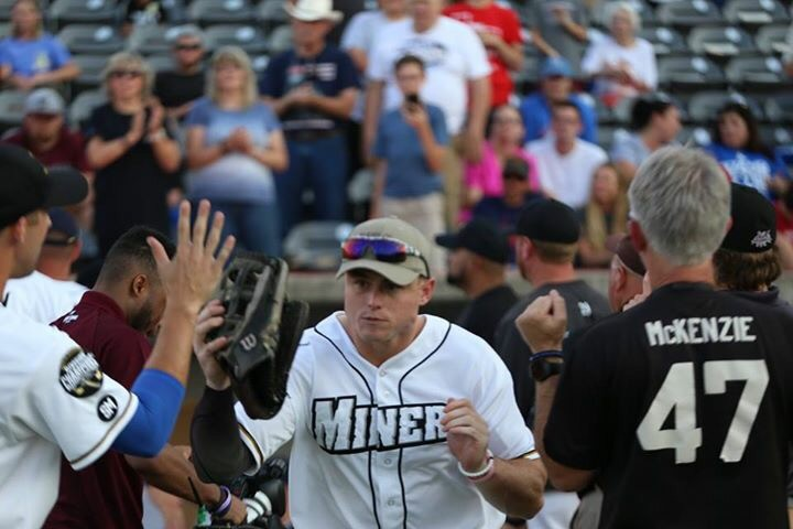 Stand Up For Blue Night w/ Southern Illinois Miners at Rent One Park - August 10, 2017