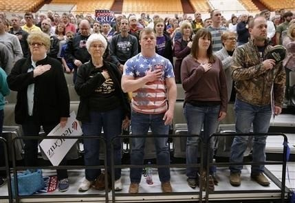 Cruz wins Kansas in GOP battle for delegates