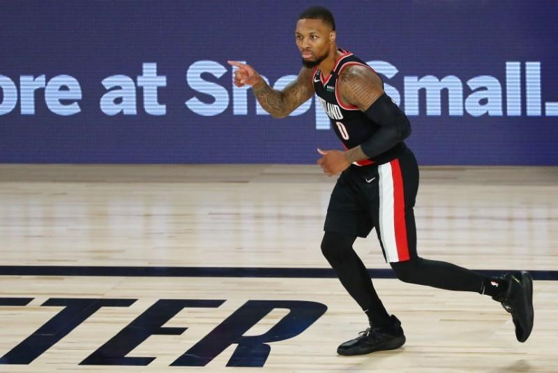 NBA roundup: Lillard ties career-high 61 in Blazers' win