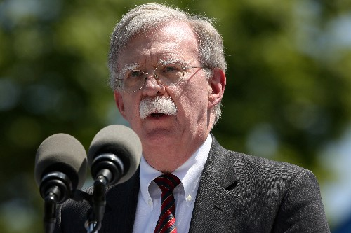 North Korean missile test violated U.N. resolution, says Bolton