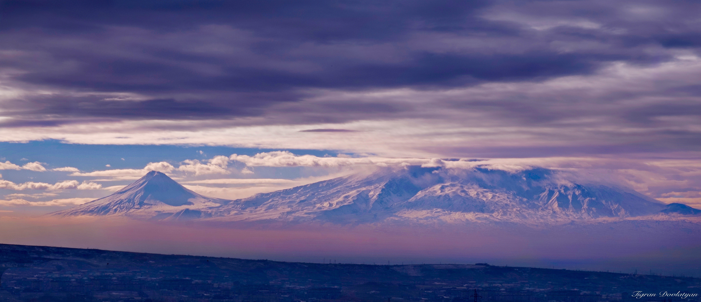 Mount Ararat from Armenia Fujifilm x-e1