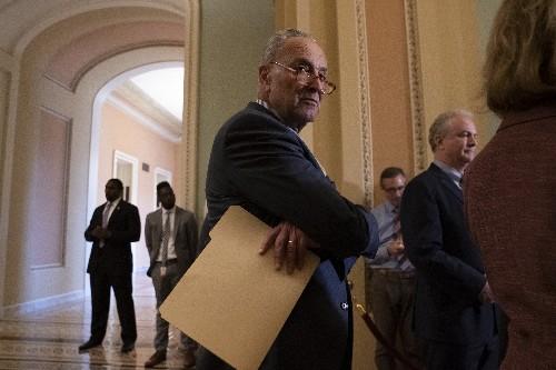 Democrats block Pentagon funding bill as Senate leaders feud