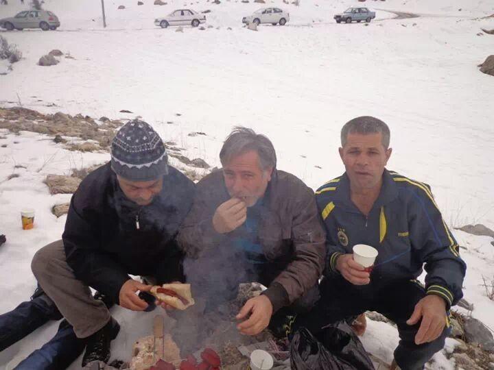 Ibrahim ustaz with friends