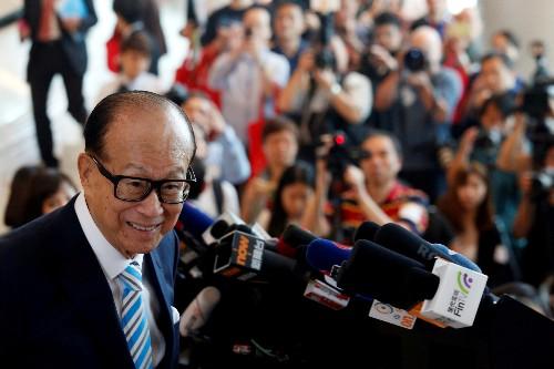 Hong Kong tycoon Li Ka-shing donates $128 million to support local business