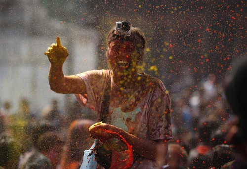 Celebrating the Holi Festival in Pictures