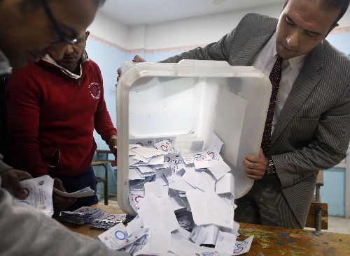 Rights group denounces 'unfree and unfair' Egyptian vote