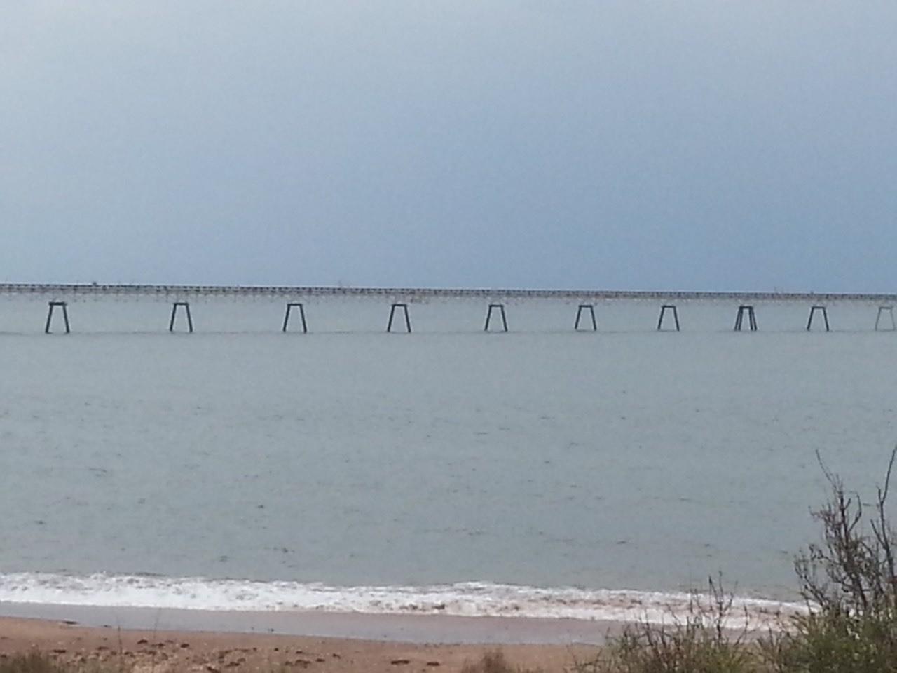Salt jetty