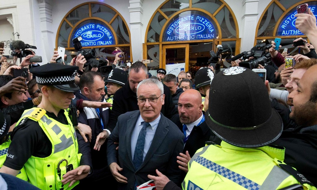Claudio Ranieri savours Leicester glory 'like a good wine'