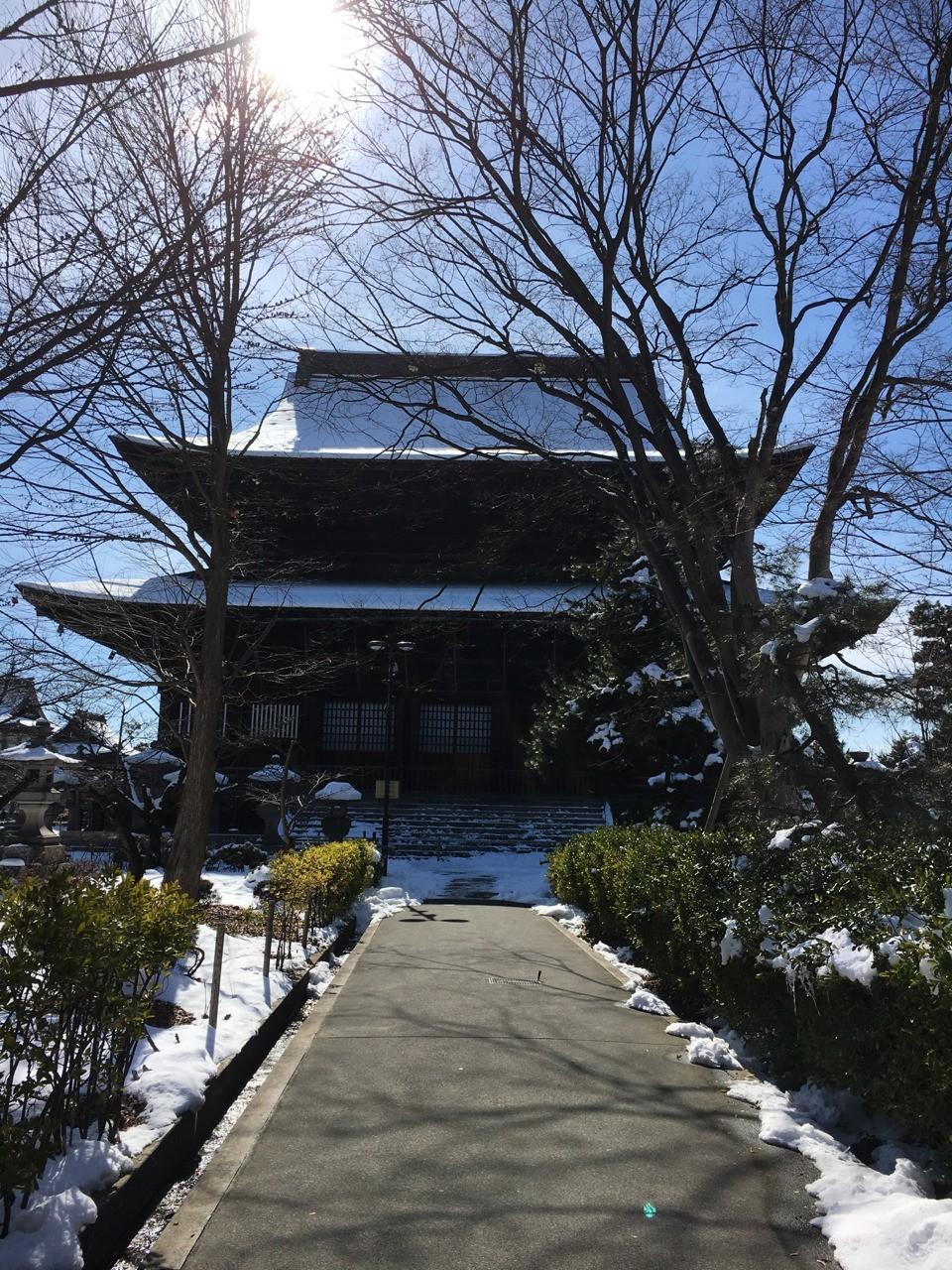 Zenko-ji shrine at Nagano (Japan)