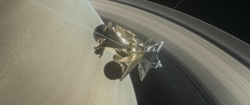 U.S. spacecraft to take slingshot dive inside Saturn's rings