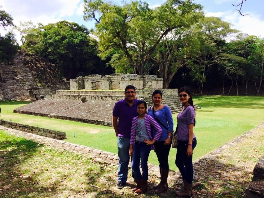 Viaje a Las Ruinas de Copan Enero 2015
