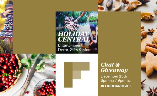 'Tis the Season for Chatting: Join the Holiday Central Twitter Chat
