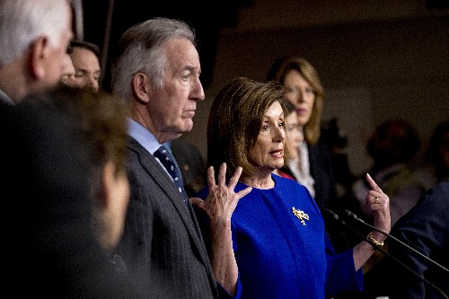 House leaders racing the clock on government spending bill