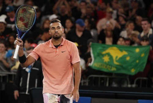 Kyrgios puts it in perspective as he eases into second round