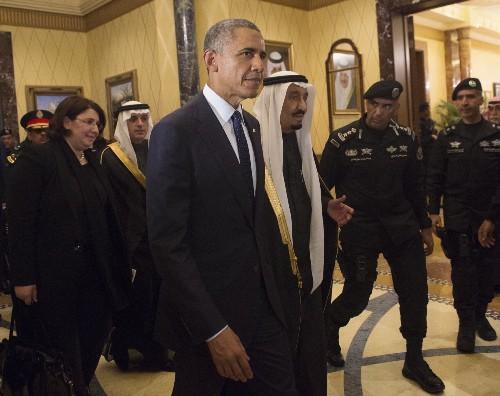 Obama Visits Saudi Arabia