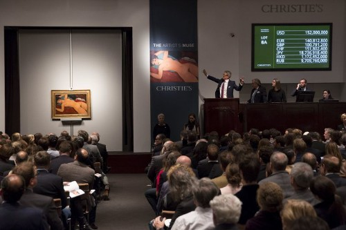 Modigliani nude sells for $170 million, second-highest price ever paid at art auction