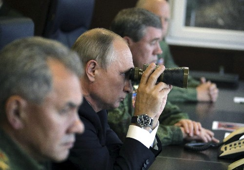 Despite Putin's swagger, Russia struggles to modernize its navy