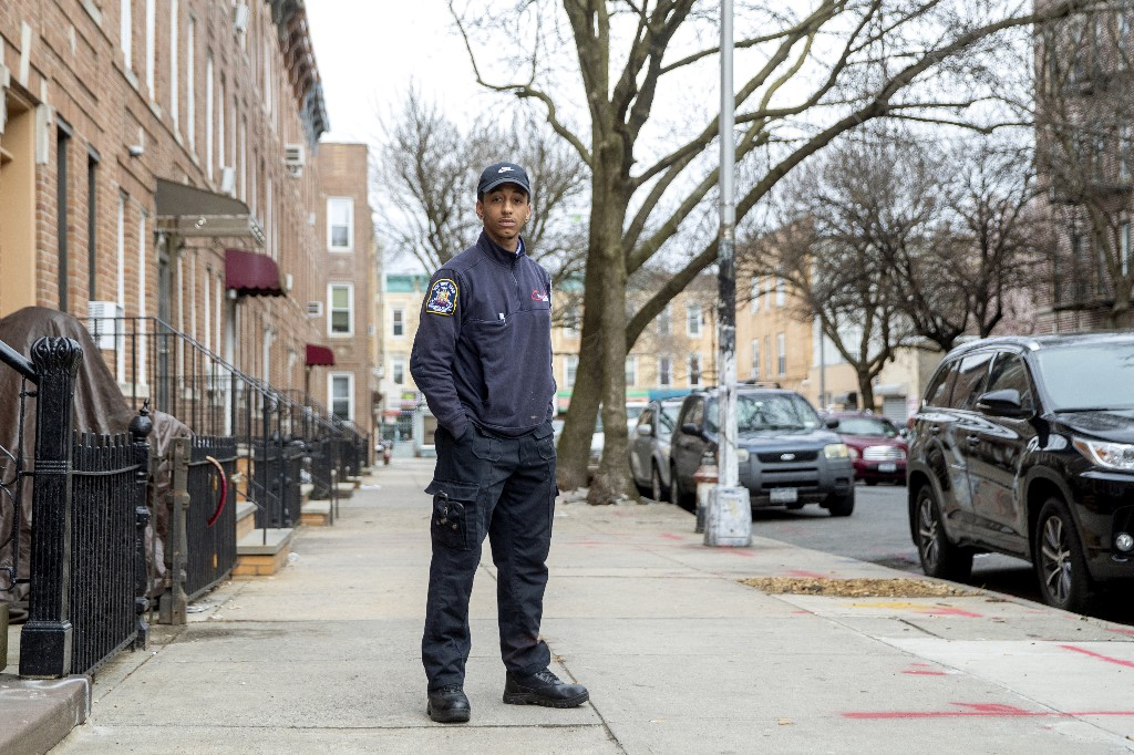 'I cried on the truck': Fatigued NY workers forge ahead