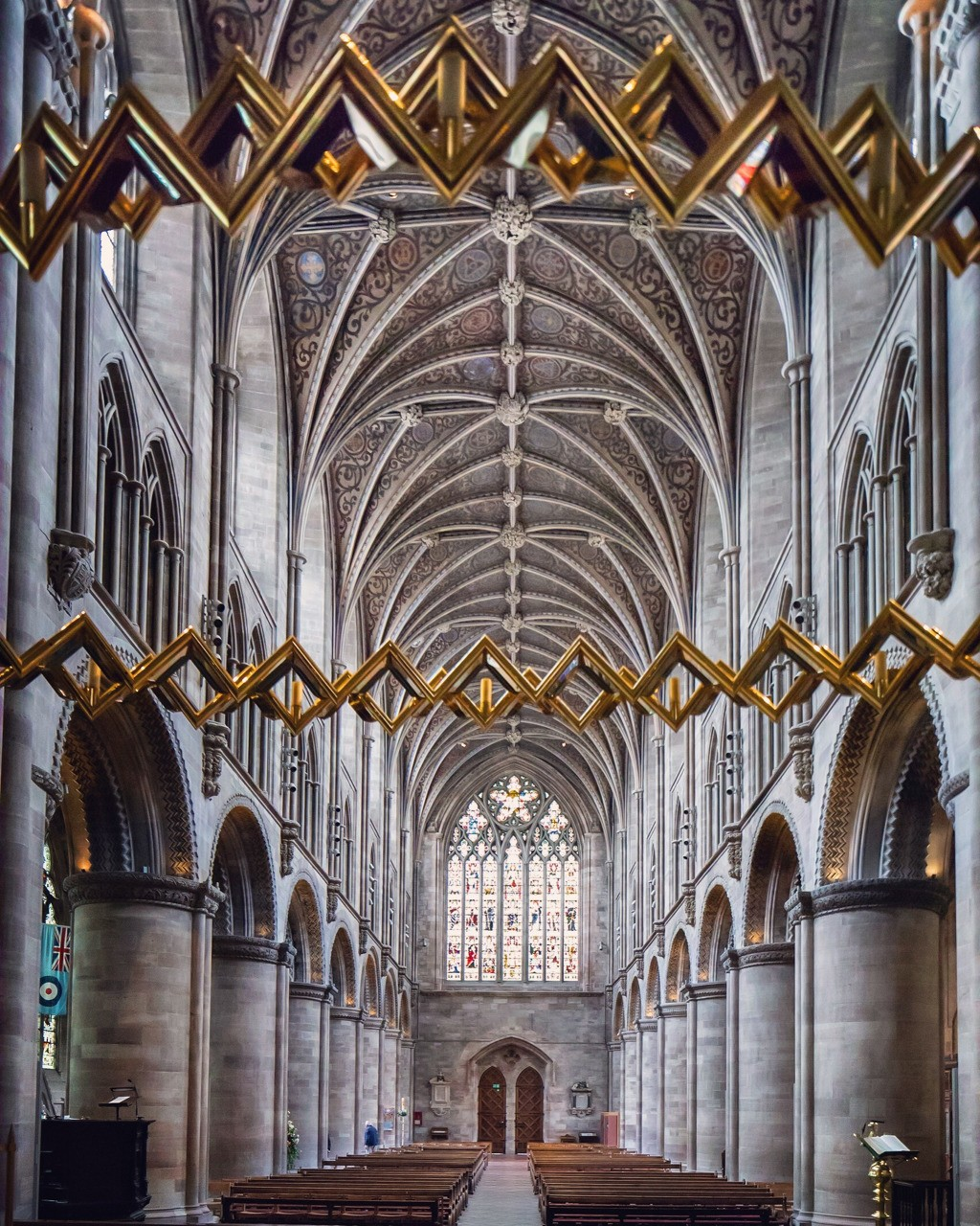 Hereford Cathedral UK - follow me on Insta: @fotofacade
