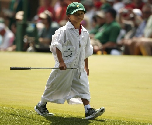 Family Day at the Masters Par 3 Contest