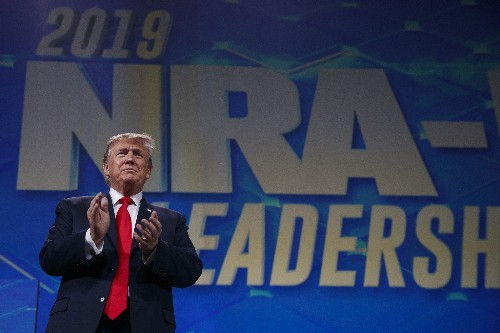 Trump to address a divided National Rifle Association