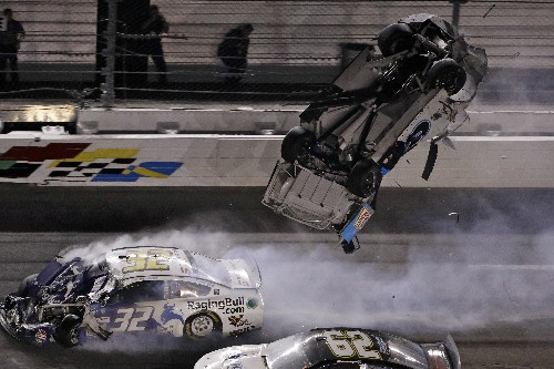 Blaney's attempted push of Newman led to violent crash