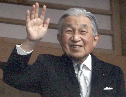 Japan emperor marks last birthday on throne, prays for peace